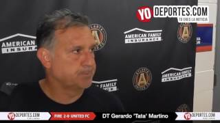 Gerardo Tata Martino Chicago Fire 2-0 Atlanta United FC