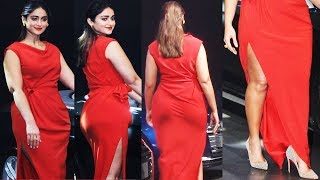 Oops Ileana D'Cruz Looking So FAT At Launch Of Audi A5 Trio