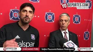 Entrevista con Veljko Paunovic y Nelson Rodriguez del Chicago Fire 2018