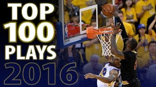 NBA Top 100 Plays of 2016