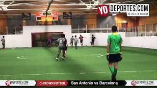 San Antonio 18- 1 Barcelona Chitown Futbol de Chicago Illinois