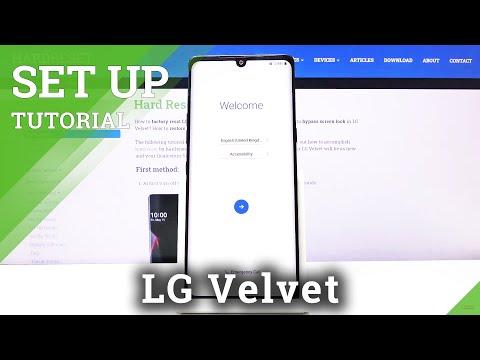 Set Up Process in LG Velvet – Configuration & Activation