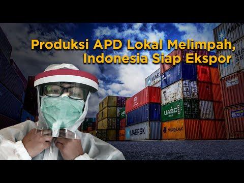 Pasokan APD Melimpah, Indonesia Siap Ekspor ke Negara Lain