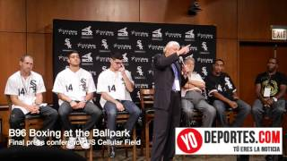 B96 Boxing at the Ballpark  final press conference