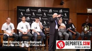 B96 Boxing at the Ballpark  final press conference