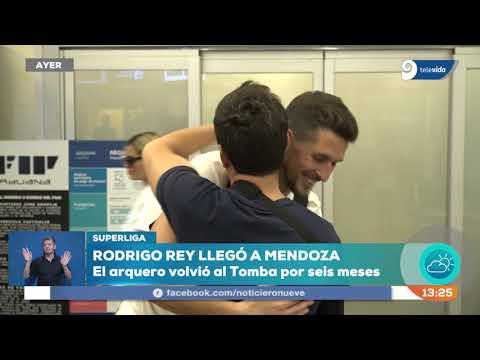 El emotivo testimonio de Rodrigo Rey en su regreso al Tomba