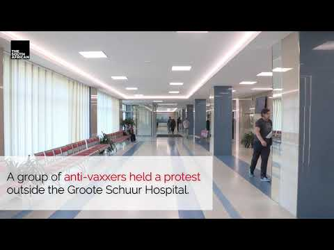 Groote Schuur Hospital SLAMS anti-vaxxer protesters