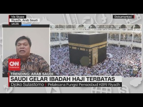 Saudi Gelar Ibadah Haji Terbatas