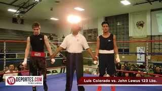 Luis Nahum Colorado vs John Lewus 123 Lbs  Copa Acopil Chicago Cicero