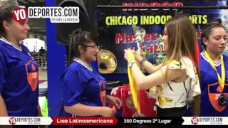 350 Degrees Subcampeones Lunes Liga Latinoamericana en Chicago