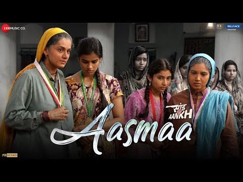 Aasmaa (Saand Ki Aankh) Song Lyrics in Hindi&English