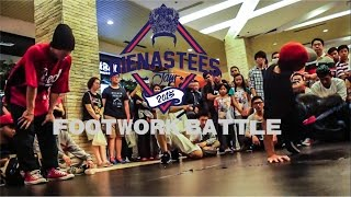 JAZBI VS FLUTEZ | FINAL FOOTWORK BATTLE DIENASTEES JAM 2015 | A.P.E Films