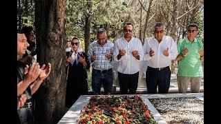 Kemal Sunal ölümünün 18'inci Yılında Mezarı Başında Anıldı