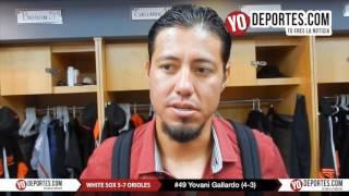 Yovani Gallardo gana duelo de mexicanos a Miguel González Medias Blancas vs. Orioles