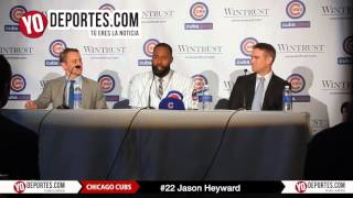 Jason Heyward signing 8-year deal Chicago Cubs