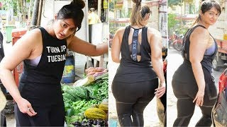 Ileana D'Cruz FAT FIGURE After Marriage, Spotted Buying Veggies In Bandra