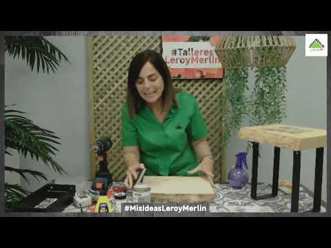Taller Regalo DIY Día de la Madre - LEROY MERLIN