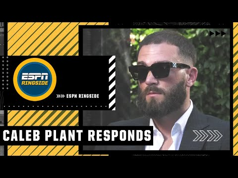 Caleb Plant responds to Canelo Alvarez calling him insecure | ESPN Ringside