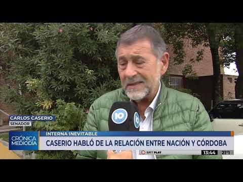 """Carlos Caserio: """"Somos un grupo político que quiere integrarse al proyecto nacional"""""""