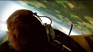 Aerobatic flight Extra300 (Kunstflug)
