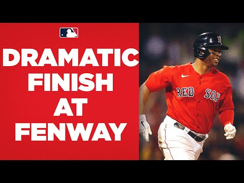 CRAZY FINISH AT FENWAY! Vlad Guerrero Jr. homers to tie game in 9th, then Red Sox walk it off!