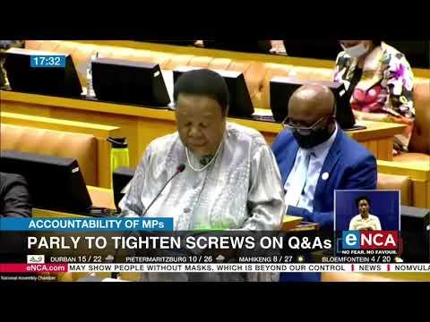 Parliament to tighten screws on Q&As