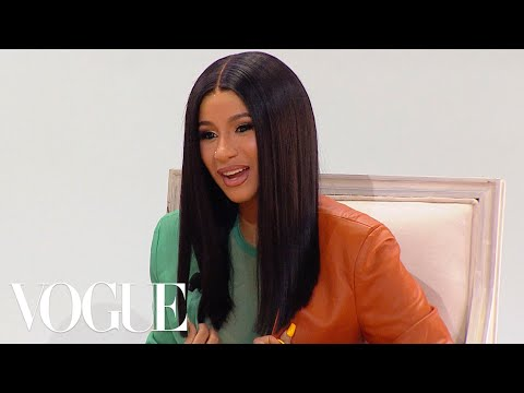 Cardi B on Raising Her Daughter, Bernie Sanders, and Coordinating Outfits with Offset | Vogue