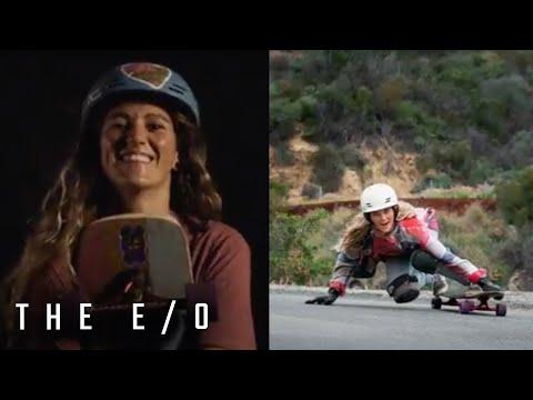 Downhill Skater & Adrenaline Seeker Amanda Main   The E/O