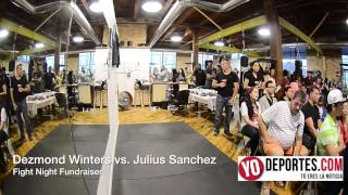 Dezmond Winters vs Julius Sanchez Shot Boxing Club Fight Night Fundraiser