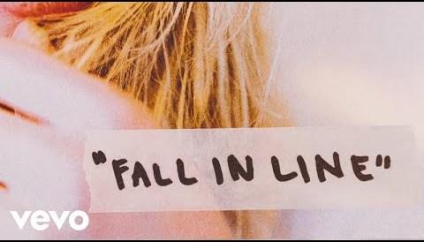 Download Music Christina Aguilera - Fall In Line ft. Demi Lovato