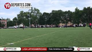 Club America vs. Maravatio Liga Latinoamericana