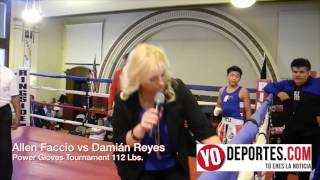 Allen Faccio vs Damian Reyes Power Gloves Tournament