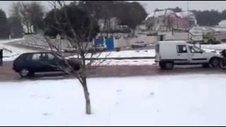 تازة: تساقط الثلوج بباب بودير زوال الأمس الأحد