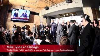Mike Tyson en Chicago