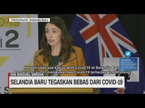 Selandia Baru Tegaskan Bebas Dari Covid-19