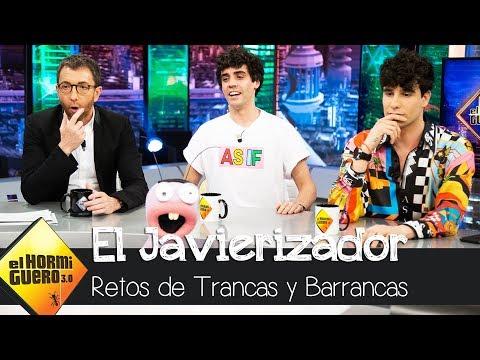 'Los Javis' se enfrenta al reto de 'El Javierizador'- El Hormiguero 3.0