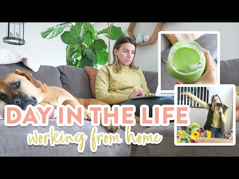 Day in the Life | Casual Workday + What I Ate