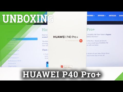 UNBOXING HUAWEI P40 Pro+ - What's inside / Quick Review