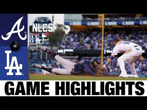 Braves vs. Dodgers NLCS Game 4 Highlights (10/20/21)   MLB Highlights
