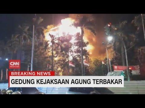 Gedung Kejaksaan Agung RI Terbakar