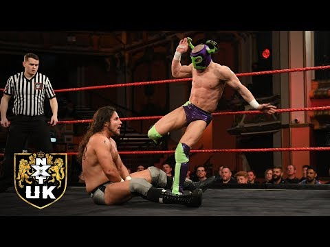 Ligero vs. Joseph Conners: NXT UK, Jan. 9, 2019