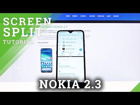 How to Split Screen on Nokia 2.3 - Dual Screen
