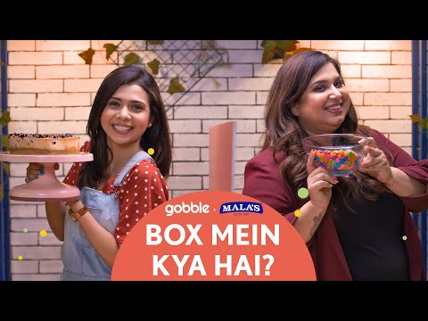 Gobble | Box Mein Kya Hai | Blueberry Cheesecake | Dessert Challenge | Ft. Shreya Gupto