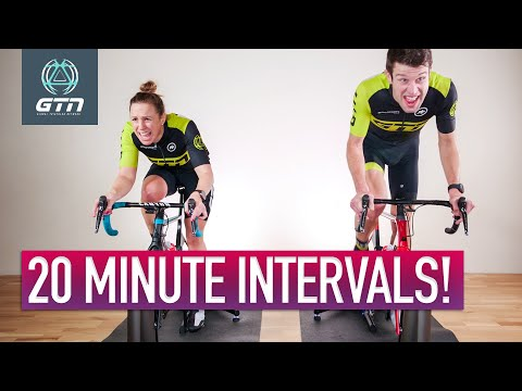 20 Minute Power Interval Session | Indoor Bike Workout