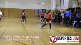 Liga Juvenil vs. Club Limón Liga Club Deportivo Checa