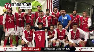 Ixcapuzalco Campeón de los Jueves Liga 5 de Mayo