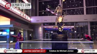 Michael Jordan regresa al United Center de Chicago