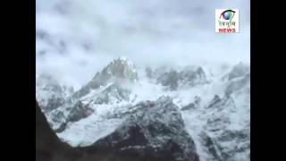 उत्तराखंड के पहाड़ों पर बर्फबारी