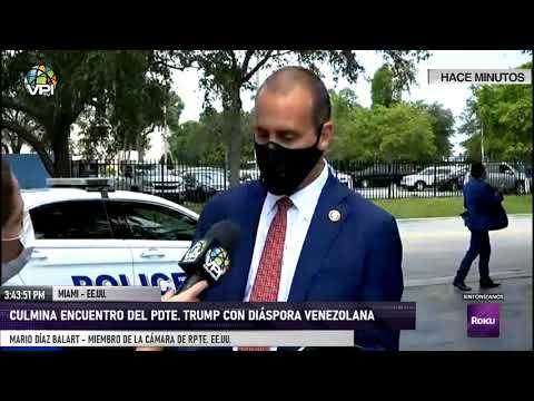 EN VIVO - Culmina encuentro del Pdte. trump con diáspora venezolana - VPItv