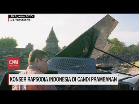 Konser Rapsodia Indonesia di Candi Prambanan